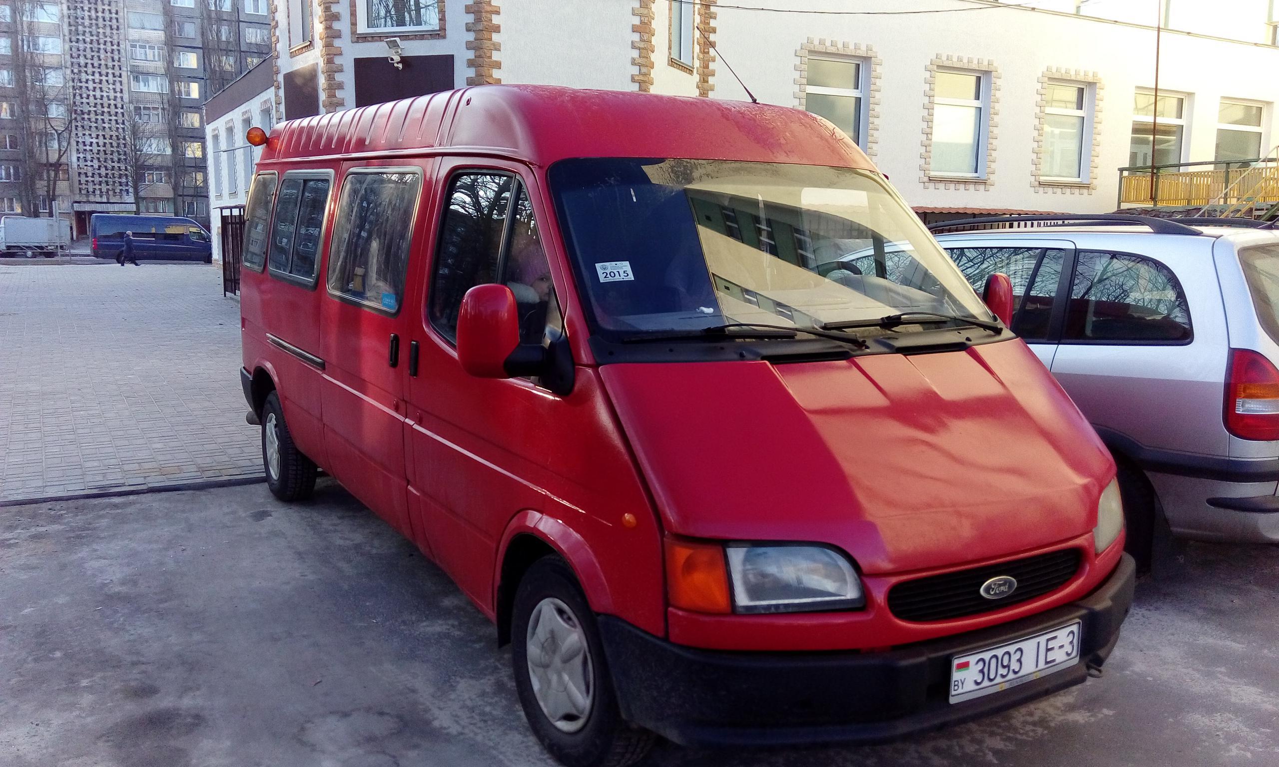 ford transit купить в белоруссии #11