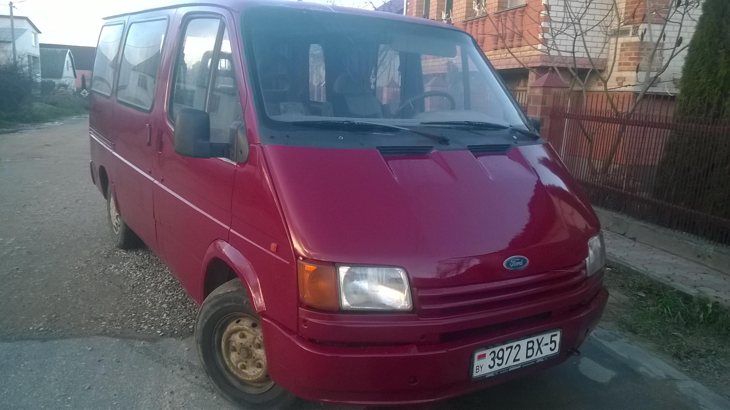 Ford Transit 1992 Борисов №11067215 - продажа авто на abw.by
