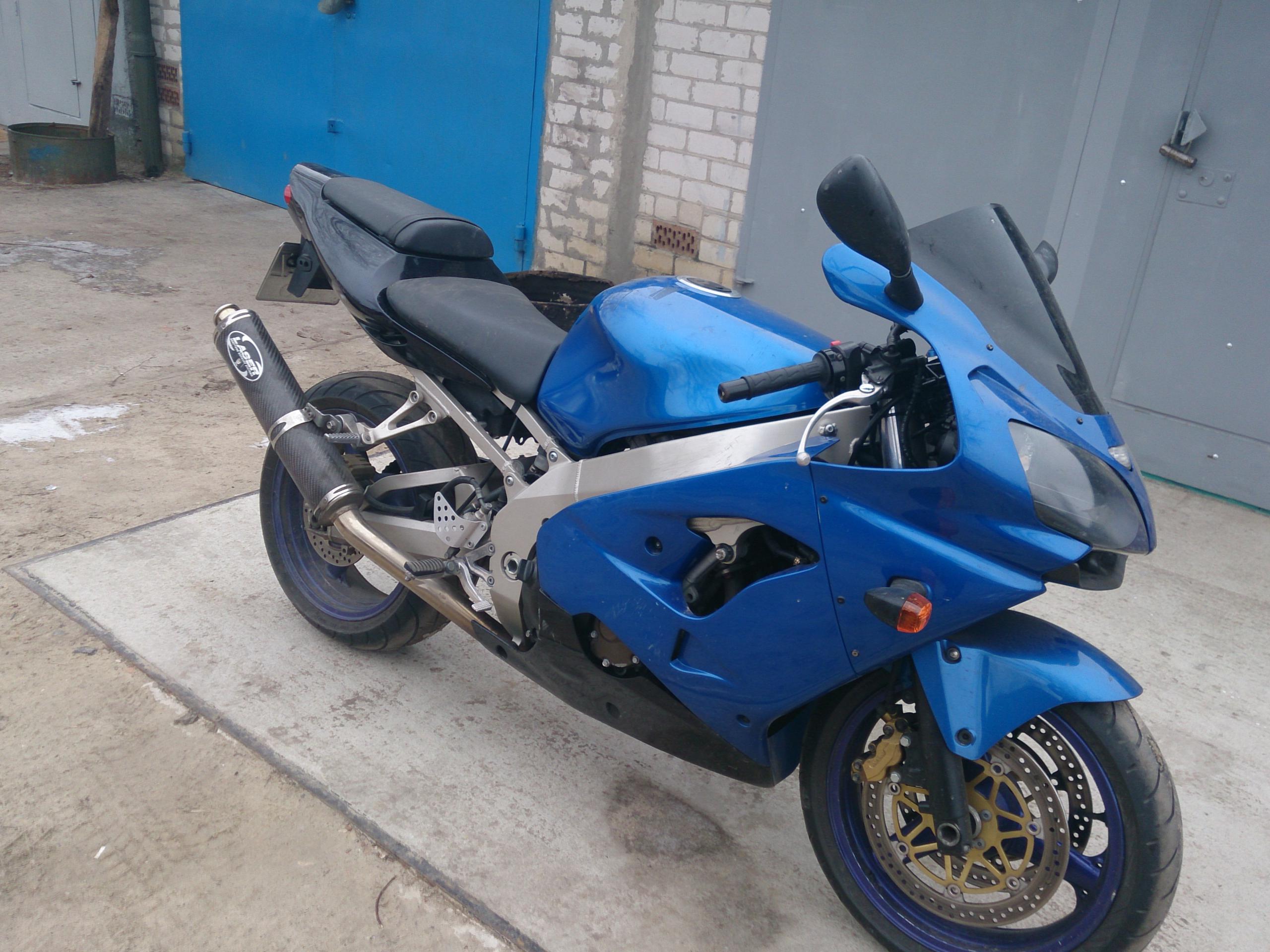 купить мотоцикл Kawasaki Ninja цена 3 600 беларусь брест 2002 г